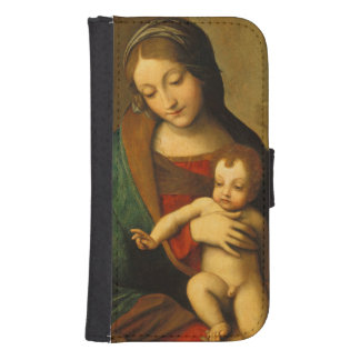 Madonna and Child with Saints Phone Wallet