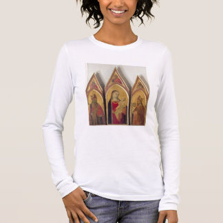 Madonna and Child with SS. Nicholas and Proculus, Long Sleeve T-Shirt