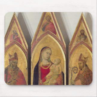 Madonna and Child with SS. Nicholas and Proculus, Mouse Pad