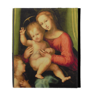 Madonna and Child with St. John iPad Case
