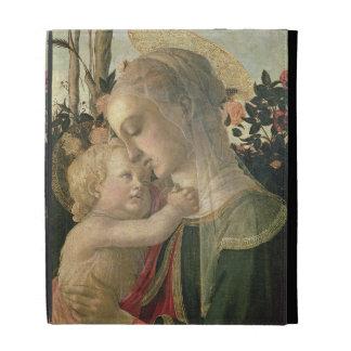 Madonna and Child with St. John the Baptist, detai iPad Folio Cover
