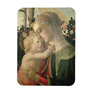 Madonna and Child with St. John the Baptist, detai Rectangular Photo Magnet