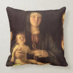 Madonna and Child with St. Mary Magdalene and St. Cushion