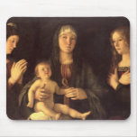 Madonna and Child with St. Mary Magdalene and St. Mouse Mat