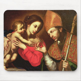 Madonna and Child with St. Zenobius Mouse Pad