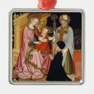 Madonna and Child with the Donor Christmas Ornament