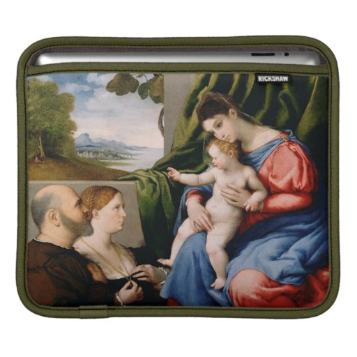 Madonna and Child with the Infant Saint John Sleeves For iPads