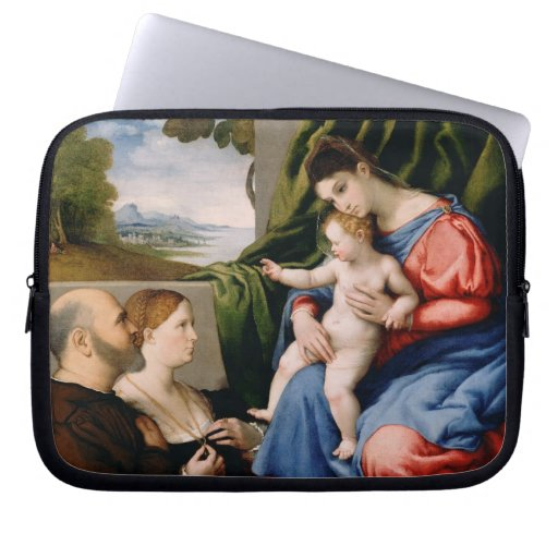 Madonna and Child with the Infant Saint John Laptop Computer Sleeves