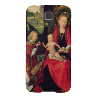 Madonna and Child with two Angels Galaxy S5 Covers