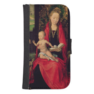 Madonna and Child with two Angels Galaxy S4 Wallets