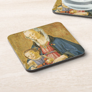 Madonna and Child with Two Donors, 1525-1530 Coaster
