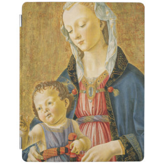 Madonna and Child with Two Donors, 1525-1530 iPad Cover