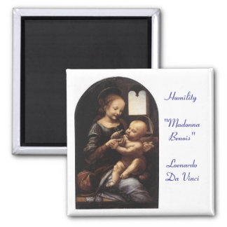 Madonna Benois - Sq Magnet