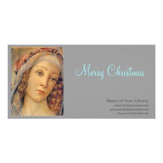 Madonna - Botticelli Custom Photo Card