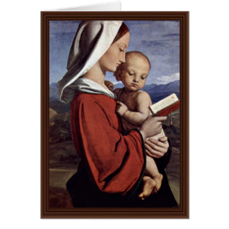 Madonna By Dyce William (Best Quality) Card