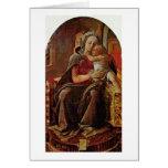 Madonna By Fra Filippo Lippi Cards