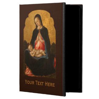 Madonna & Child custom monogram art cases iPad Air Covers