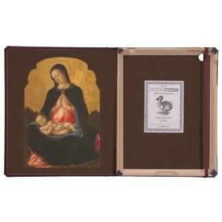 Madonna & Child custom monogram art cases iPad Case