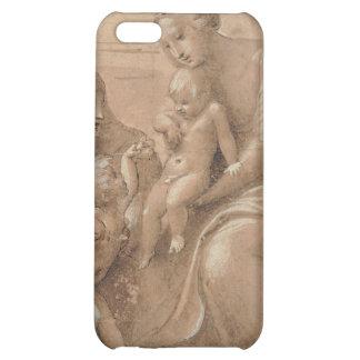 madonna col bambino san giovannino by Raffaello iPhone 5C Cover