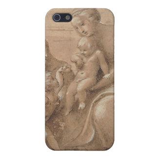 madonna col bambino san giovannino by Raffaello Cases For iPhone 5