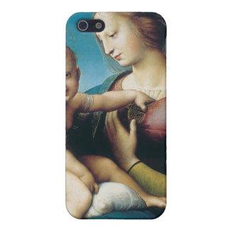 madonna cowper by Raffaello Sanzio da Urbino Cover For iPhone 5