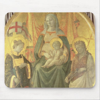 Madonna del Ceppo, 1453 (and detail 62016) Mouse Pad