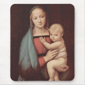 Madonna Del Granduca by Raphael Mouse Pad
