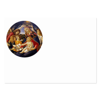 Madonna del Magnificat Pack Of Chubby Business Cards