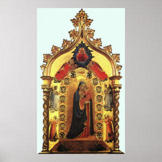 Madonna della Stella Poster