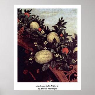 Madonna Della Vittoria By Andrea Mantegna Poster