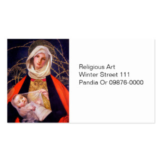 Madonna Holding Child Pack Of Standard Business Cards