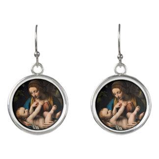 Madonna med  Kristusbarnet Earrings