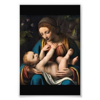 Madonna med  Kristusbarnet Photo Print