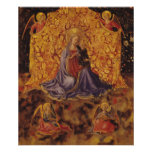Madonna of Humility with Christ Child and Angels Posters