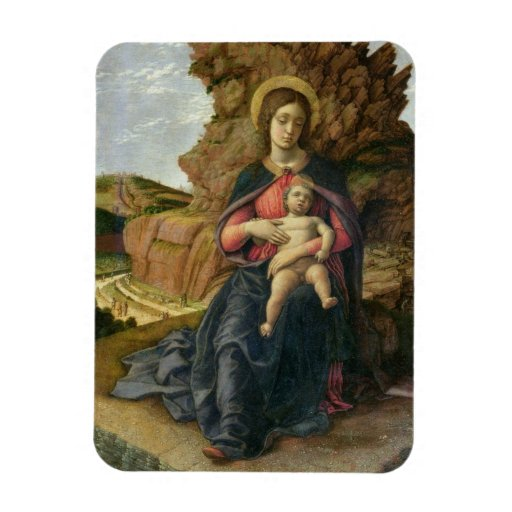 Madonna of the Cave, 1488-90 (tempera on panel) Magnet