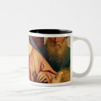 Madonna of the Cherries with Joseph Two-Tone Coffee Mug