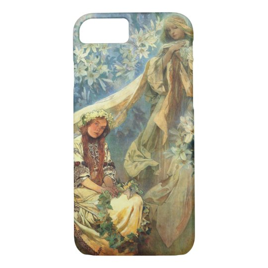 Madonna of the Lilies 1905 iPhone 7 Case
