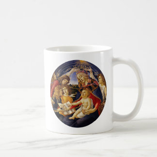 Madonna of the Magnificat by Botticelli Coffee Mugs