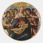 Madonna of the Pomegranate - Botticelli