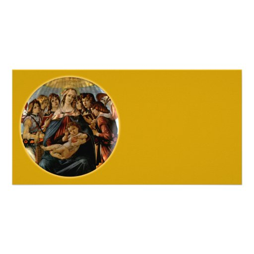 Madonna of the Pomegranate - Botticelli Photo Greeting Card