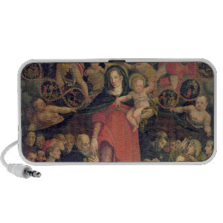 Madonna of the Rosary, c.1569 (oil on canvas) Notebook Speakers