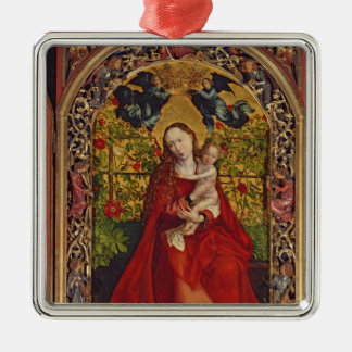 Madonna of the Rose Bower, 1473 Christmas Ornament