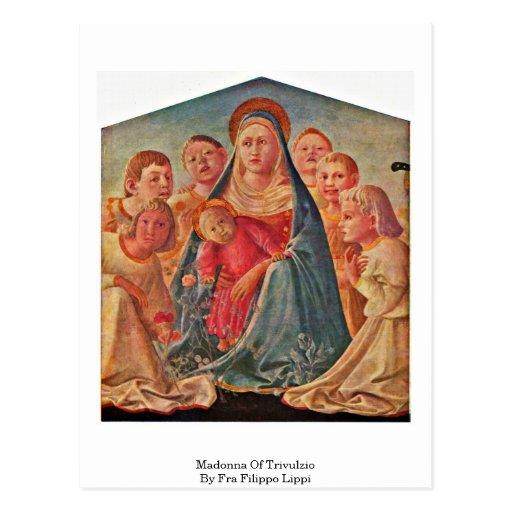 Madonna Of Trivulzio By Fra Filippo Lippi