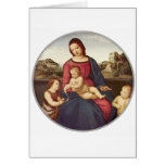 Madonna Terranuova by Raphael Greeting Card