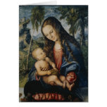 Madonna under the fir tree, c.1510 greeting card