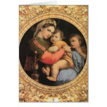 Madonna with Christ Child Greeting Cards