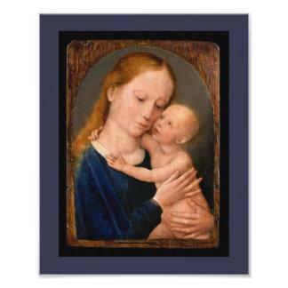 Madonna with Christ Child Photo Print