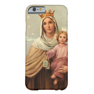 Madonna With Crown and Baby Jesus Barely There iPhone 6 Case