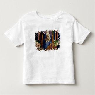 Madonna with Saint Nicholas of Bari Toddler T-Shirt