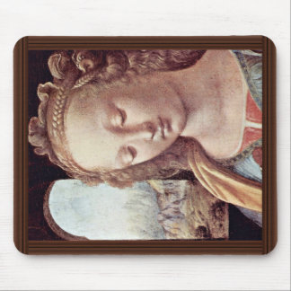 Madonna With The Carnation  By Leonardo Da Vinci Mouse Pad